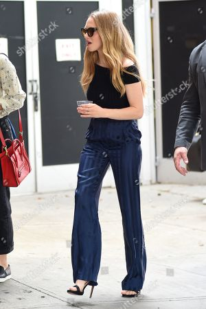 Editorial photo of Amanda Seyfried out and about, New York, USA - 22 Jun 2019