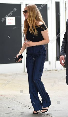 Editorial picture of Amanda Seyfried out and about, New York, USA - 22 Jun 2019