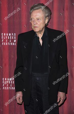 Stock Image of Christopher Walken
