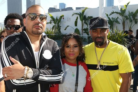 DJ Envy, Angela Yee and DJ Clue