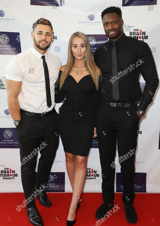 Kieran Nicholls, Leah Mountford and Daniel Mosaku