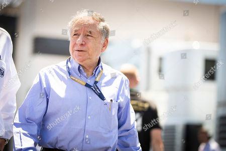 Motorsports: FIA Formula One World Championship 2019, Grand Prix of France,  Jean Todt (FRA, FIA President),
