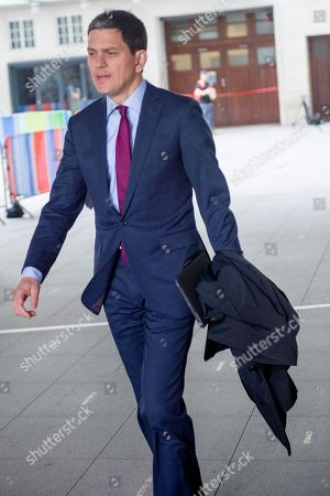 David Miliband, Chief Executive of the International Rescue Committee and Public Policy Analyst at the BBC