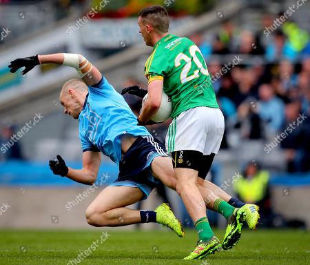 Dublin vs Meath. Dublin's Paul Mannion and Shane McEntee of Meath