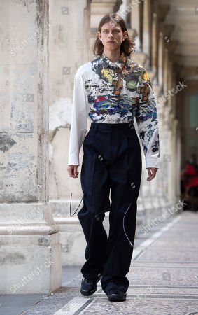 Editorial image of Christian Dada - Runway - Paris Men's Fashion Week S/S 2020, France - 23 Jun 2019