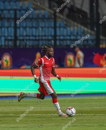 Stock Picture of Gael Bigirimana of Burundi during the African Cup of Nations match between Nigeria and Burundi at the Alexandria Stadium in Alexandia, Egypt