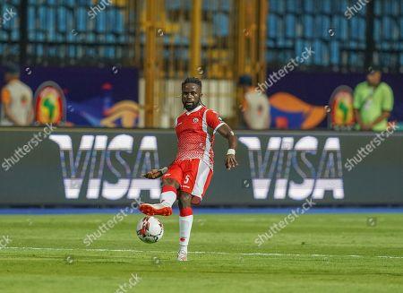 Gael Bigirimana of Burundi during the African Cup of Nations match between Nigeria and Burundi at the Alexandria Stadium in Alexandia, Egypt