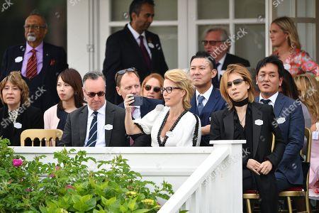 Andrew O'Hagan, Gillian Anderson and Yashiki Hayashi