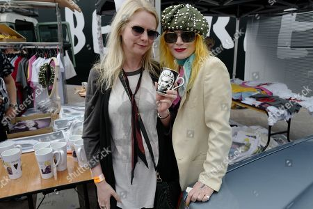 Stock Image of Lee Starkey and Pam Hogg