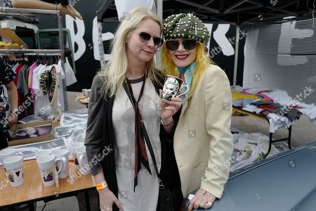 Stock Picture of Lee Starkey and Pam Hogg