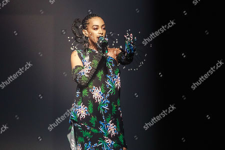 Stock Picture of US singer Solange Knowles performs during the presentation of the Spring/Summer 2020 Men's and women's collection by Humberto Leon and Carol Lim for Kenzo during the Paris Fashion Week, in Paris, France, 23 June 2019. The presentation of the Spring/Summer 2020 menswear collections runs from 18 to 23 June.