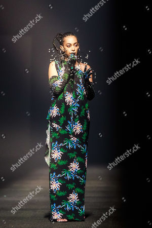 US singer Solange Knowles performs during the presentation of the Spring/Summer 2020 Men's and women's collection by Humberto Leon and Carol Lim for Kenzo during the Paris Fashion Week, in Paris, France, 23 June 2019. The presentation of the Spring/Summer 2020 menswear collections runs from 18 to 23 June.