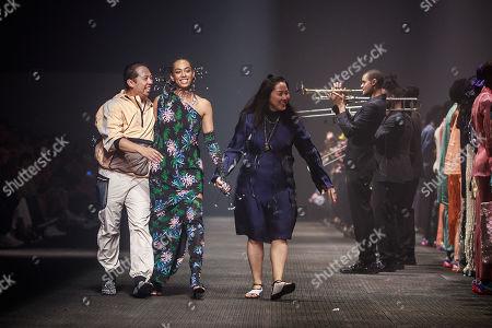Editorial photo of Kenzo - Runway - Paris Men's Fashion Week S/S 2020, France - 23 Jun 2019