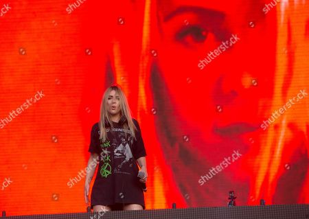 Alison Wonderland performs on Day 2 of the 2019 Firefly Music Festival at The Woodlands, in Dover, Del