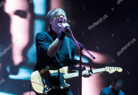 Ben Gibbard of the band Death Cab for Cutie performs on Day 2 of the 2019 Firefly Music Festival at The Woodlands, in Dover, Del