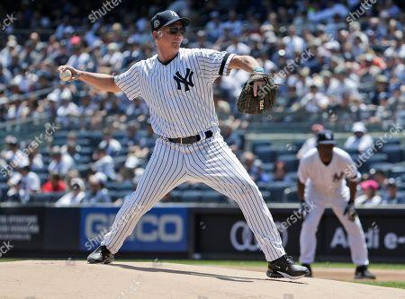 Editorial photo of Old Timers Day Yankees Baseball, New York, USA - 23 Jun 2019