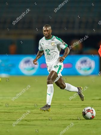 Youssouf Sabaly of Senegal during the African Cup of Nations match between Senegal and Tanzania at the 30 November Stadium in Cairo, Egypt