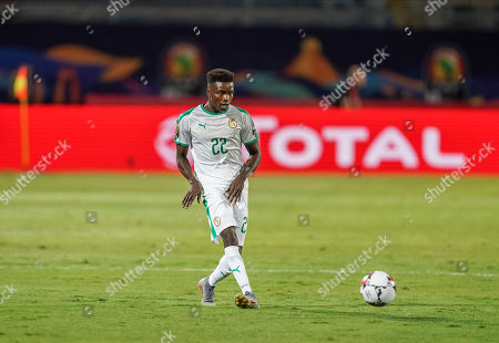 Moussa Wague of Senegal during the African Cup of Nations match between Senegal and Tanzania at the 30 November Stadium in Cairo, Egypt