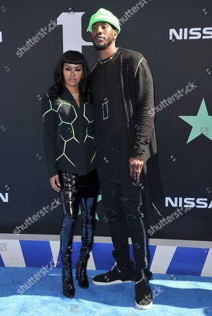 Editorial image of 2019 BET Awards - Arrivals, Los Angeles, USA - 23 Jun 2019