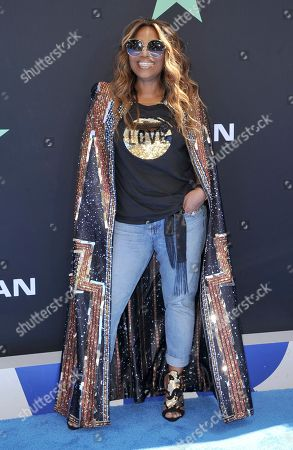 Stock Picture of Mona Scott-Young arrives at the BET Awards, at the Microsoft Theater in Los Angeles