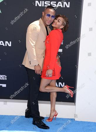 DeVon Franklin and Meagan Good