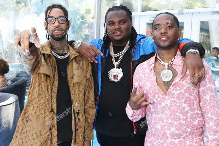 Stock Picture of PnB Rock, Tee Grizzley and London on da Track