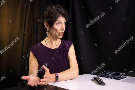 """Stock Image of Diane Foley, mother of journalist James Foley, who was killed by the Islamic State terrorist group in a graphic video released online, speaks to the Associated Press during an interview in Washington, . The U.S. must do a better job communicating with families of American hostages held overseas, including telling """"hard truths"""" about the chances for rescue and clarifying the government's position on ransom payments to captors, according to a new report from the James W. Foley Legacy Foundation"""