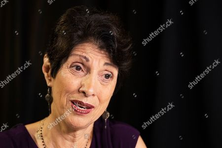 """Diane Foley, mother of journalist James Foley, who was killed by the Islamic State terrorist group in a graphic video released online, speaks to the Associated Press during an interview in Washington, . The U.S. must do a better job communicating with families of American hostages held overseas, including telling """"hard truths"""" about the chances for rescue and clarifying the government's position on ransom payments to captors, according to a new report from the James W. Foley Legacy Foundation"""
