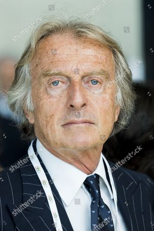 Alitalia President Luca cordero di Montezemolo attends the first day of the 134th Session of the International Olympic Committee (IOC) at the SwissTech Convention Centre in Lausanne, Switzerland, Monday, June 24, 2019. The host city of the 2026 Olympic Winter Games will be decided during the134th IOC Session. Stockholm-Are in Sweden and Milan-Cortina in Italy are the two candidate cities for the Olympic Winter Games 2026.