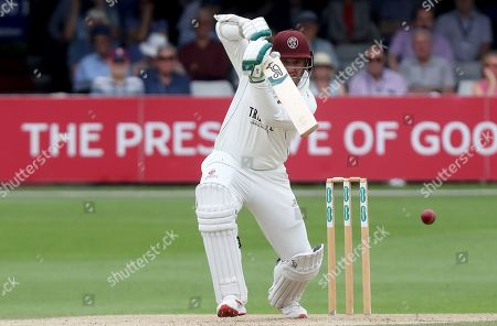 Steven Davies of Somerset in batting action during Essex CCC vs Somerset CCC, Specsavers County Championship Division 1 Cricket at The Cloudfm County Ground on 24th June 2019