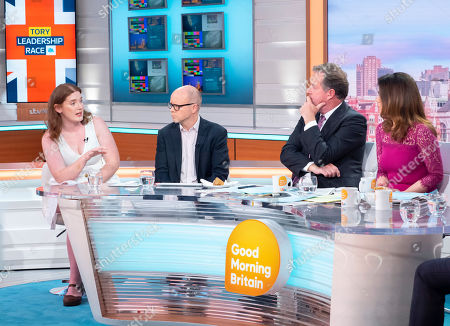 Ella Whelan and Toby Young with Piers Morgan and Susanna Reid