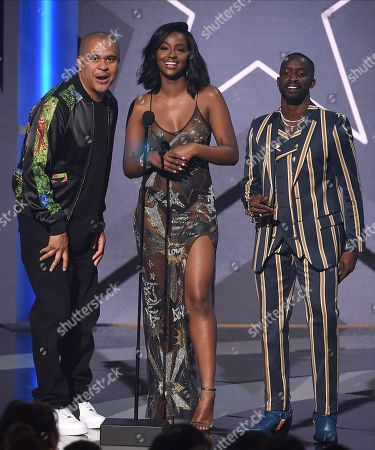 Editorial picture of BET Awards, Show, Microsoft Theater, Los Angeles, USA - 23 Jun 2019
