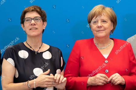 CDU board meeting, Berlin
