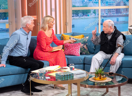 Stock Picture of Phillip Schofield and Holly Willoughby with Richard Dreyfuss