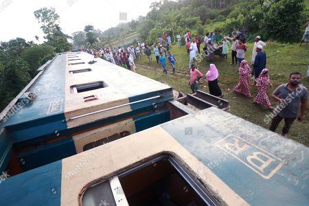 Train accident, Bangladesh