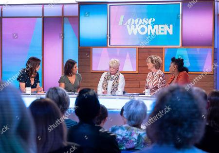 Andrea McLean, Saira Khan, Crissy Rock, Jane Moore and Brenda Edwards