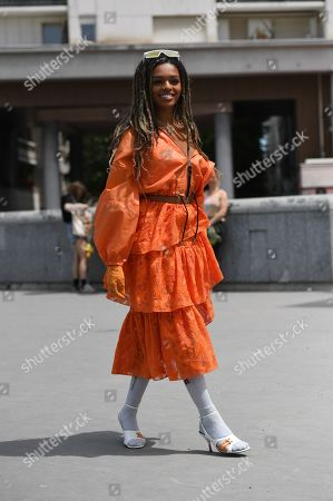 Editorial picture of Street Style, Spring Summer 2020, Paris Fashion Week Men's, France - 23 Jun 2019