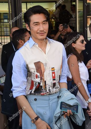 Editorial image of Lanvin show, Arrivals, Spring Summer 2020, Paris Fashion Week Men's, France - 23 Jun 2019