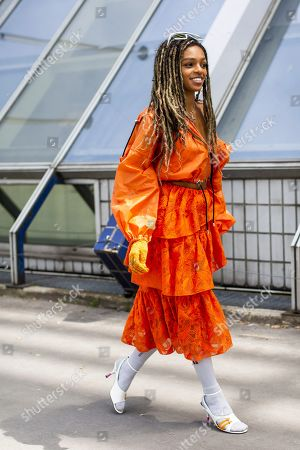 Editorial picture of Street Style, Spring Summer 2020, Paris Fashion Week Men's, France - 23 Jun 2019