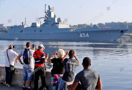 Russian Navy ships visit Cuba