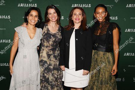Ana Lucia Villela, Estela Renner, Maria Fernanda Espinosa Garces and Tais Araujo