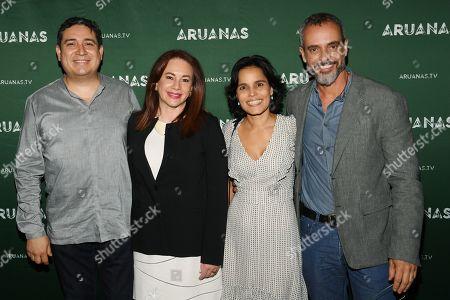 Eduardo Mangas, Maria Fernanda Espinosa Garces, Ana Lucia Villela and Marcos Nisti