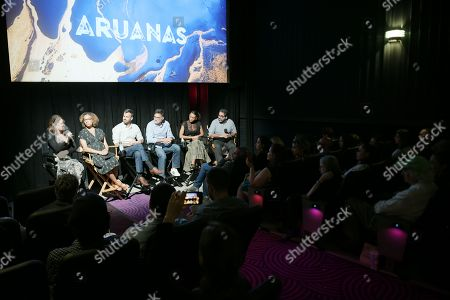 Editorial photo of 'Aruanas' TV show premiere, Angelika Theater, New York, USA - 24 Jun 2019