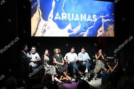 Editorial image of 'Aruanas' TV show premiere, Angelika Theater, New York, USA - 24 Jun 2019