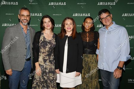 Marcos Nisti, Estela Renner, Maria Fernanda Espinosa Garces, Tais Araujo, Sergio Valente