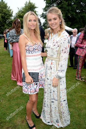 Stock Picture of Lily Travers and Cressida Bonas