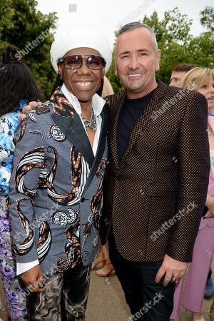 Nile Rodgers and Fat Tony