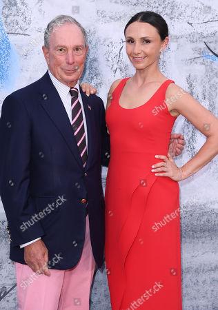 Michael Bloomberg and Georgina Bloomberg