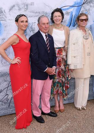 Georgina Bloomberg, Michael Bloomberg, Diana Taylor and Elena Ochoa Foster