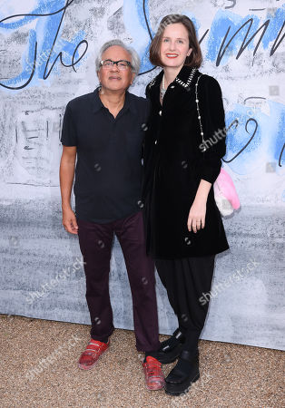 Stock Photo of Anish Kapoor and Sophie Walker
